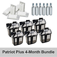4-Month Accessory Bundle for Patriot Plus - Octenol
