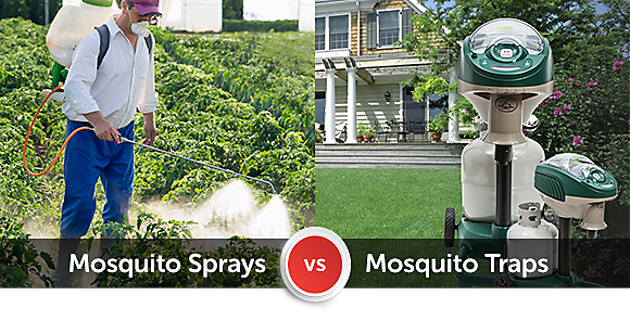 Mosquito Spray Treatment Vs Mosquito Traps