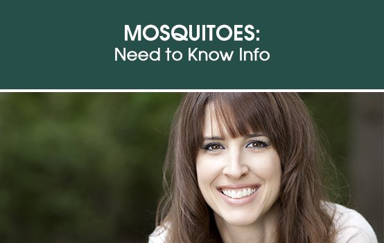 Mosquitoes: Need to Know