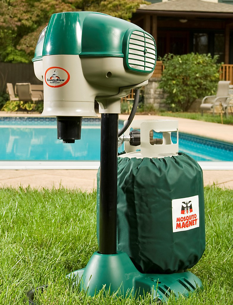 fight mosquitoes with a co2 mosquito trap